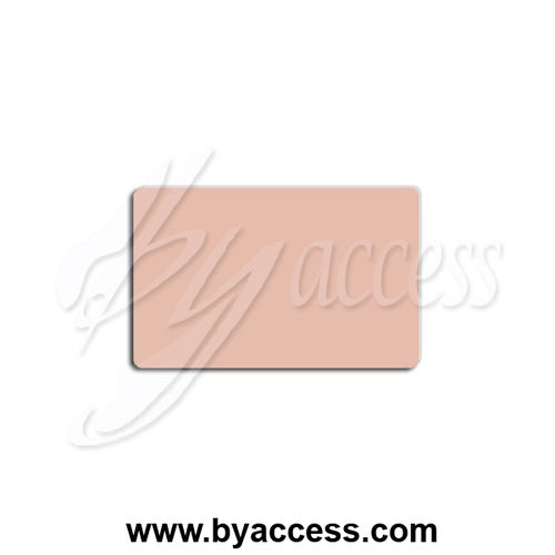 Tarjetas pvc laminadas, grosor 0,76mm color beige 4685 (Pack 500 ud.)