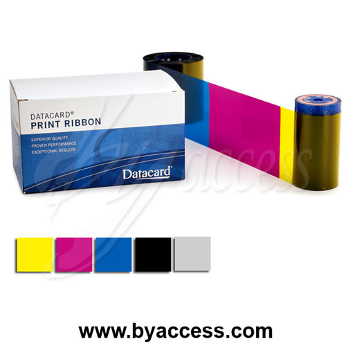 Cinta Datacard 534000-002 color YMCKT - SP/SD series - 250 impresiones